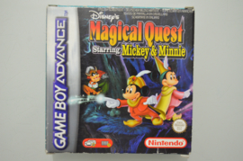 GBA Disney's Magical Quest Starring Mickey & Minnie [Compleet]