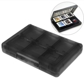 DS/3DS 24 in 1 Game Case (Zwart)