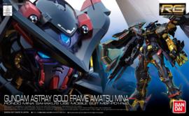 Gundam Model Kit RG 1/144 Gundam Astray Gold Frame Amatsu Mina Rondo Mina Sahaku's Use Mobile Suit MBF-P01-Re2 - Bandai [Nieuw]
