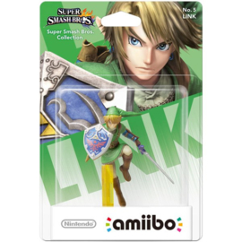 Amiibo Link The Legend of Zelda - Super Smash Bros [Nieuw]