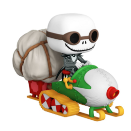 Disney The Nightmare Before Christmas Funko Pop Ride Super Deluxe Jack With Goggles and Snowmobile [Pre-Order]