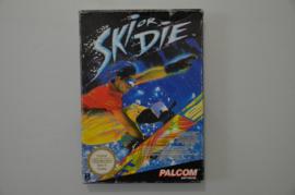NES Ski Or Die [Compleet]