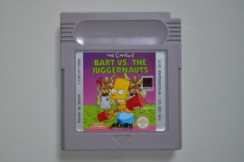 Gameboy The Simpsons - Bart vs. The Juggernauts