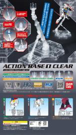 Model Kit Display Action Base Clear - Bandai [Nieuw]