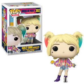 Birds of Prey Funko Pop - Harley Quinn Caution Tape #302 [Nieuw]