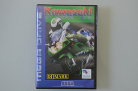 Mega Drive Kawasaki Superbikes [Compleet]