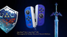 Nintendo Switch Joy-Con Controller Pair (The Legend of Zelda Skyward Sword) - Nintendo [Nieuw]