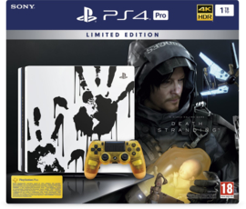 Playstation 4 Console Pro 1TB Death Stranding Limited Edition + DLC [Nieuw]