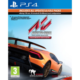 Ps4 Assetto Corsa Ultimate Edition [Nieuw]