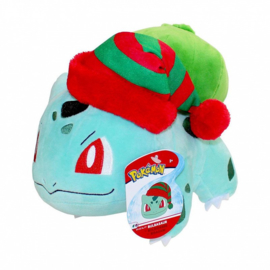 Pokemon Pluche Bulbasaur Winter Outfit - Wicked Cool Toys [Nieuw]