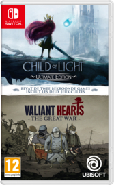 Switch Child of Light & Valiant Hearts Double Pack [Nieuw]
