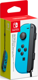Nintendo Switch Joy-Con Controller Left (Neon Blue) (Los) [Nieuw]
