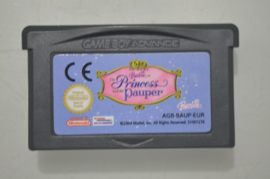 GBA Barbie The Princess and the Pauper