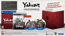 Ps4 Yakuza Remastered Collection Limited Day One Edition [Pre-Order]