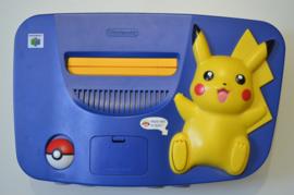 Nintendo 64 Pokemon Pikachu Console