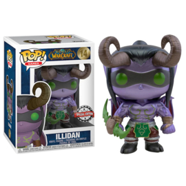 World of Warcraft Funko Pop - Illidan Blizzard 30th Anniversary Metallic Exclusive #014 [Nieuw]