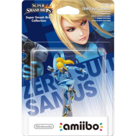 Amiibo Zero Suit Samus Metroid - Super Smash Bros [Nieuw]