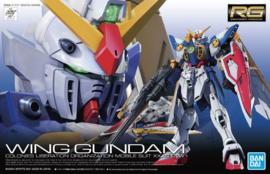 Gundam Model Kit RG 1/144 Wing Gundam - Bandai [Nieuw]