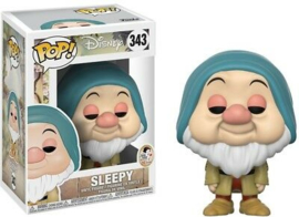 Disney Snow White Funko Pop - Sleepy #343 [Nieuw]
