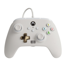 Xbox Controller Wired - Wit (Series X & S - Xbox One) - Power A [Nieuw]