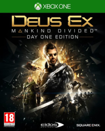 Xbox One Deus Ex Mankind Divided Day One Edition [Nieuw]