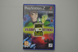 Ps2 BEN 10 Alien Force Vilgax Attacks