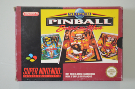 SNES Super Pinball Behind the Mask [Compleet]