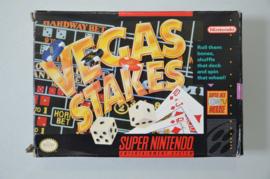 SNES Vegas Stakes [Amerikaanse Import] [Compleet]