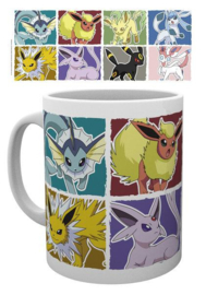 Pokemon Mok Eevee Evolutions - Pyramid International
