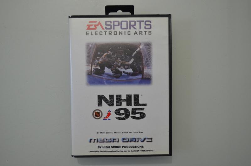 Mega Drive NHL 95 [Compleet]
