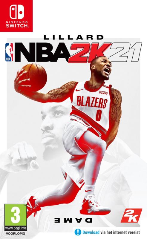 Switch NBA 2K21 [Nieuw]