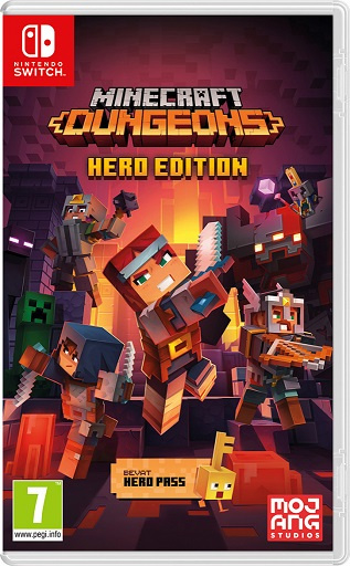 Switch Minecraft Dungeons Hero Edition [Nieuw]