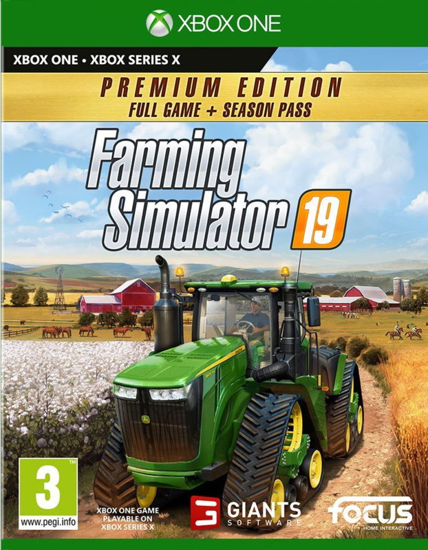 Xbox Farming Simulator 19 Premium Edition (Xbox One) [Nieuw]