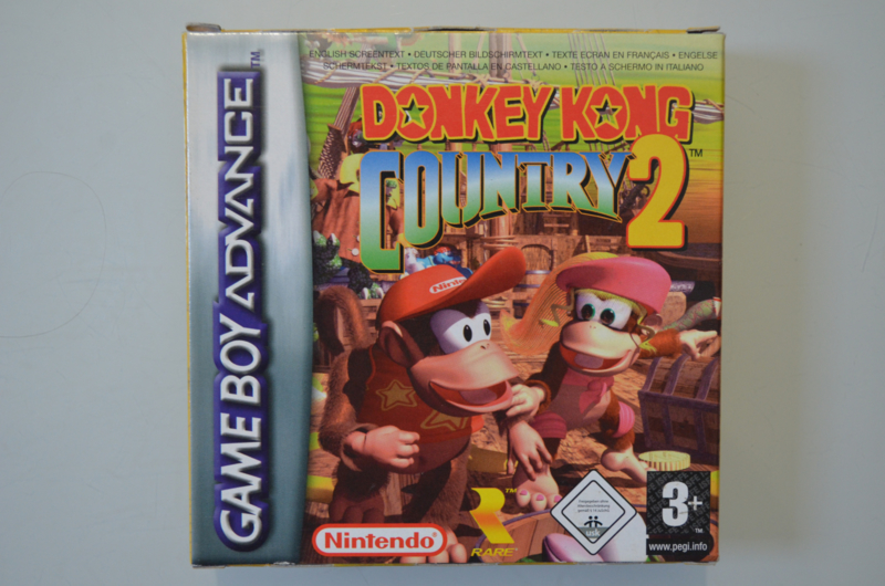 GBA Donkey Kong Country 2 [Compleet]