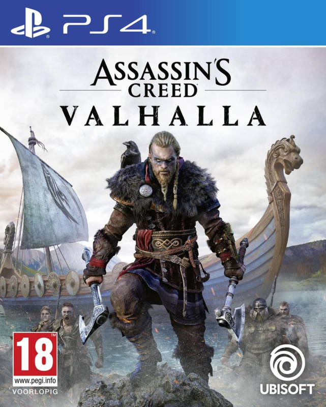 Ps4 Assassins Creed Valhalla + PS5 Upgrade [Nieuw]