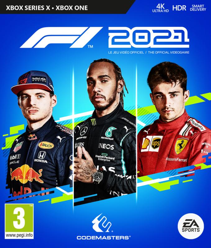 Xbox F1 2021 (Xbox One/Xbox Series X) [Nieuw]