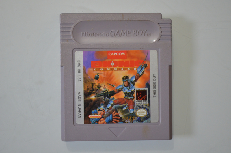 Gameboy Bionic Commando