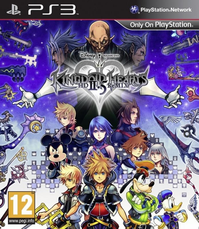 Ps3 Kingdom Hearts HD 2.5 ReMix [Nieuw]