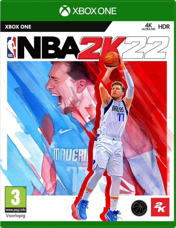 Xbox NBA 2k22 (Xbox One/Xbox Series X) [Nieuw]
