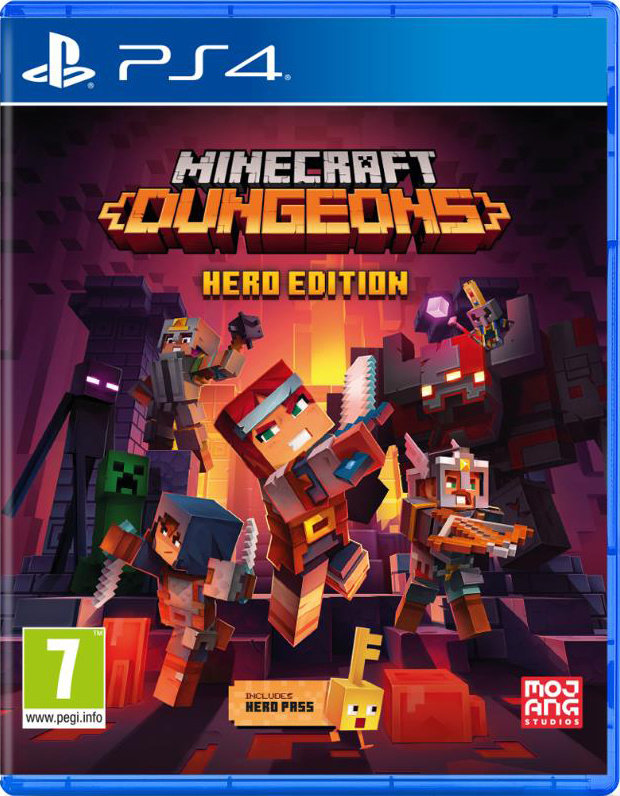 Ps4 Minecraft Dungeons Hero Edition [Nieuw]