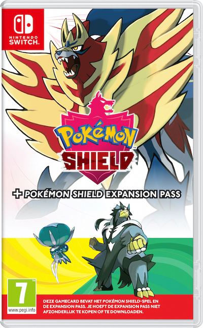 Switch Pokemon Shield + Expansion Pass [Nieuw]