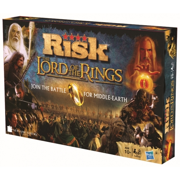 The Lord Of The Rings Risk - Hasbro Gaming [Nieuw]