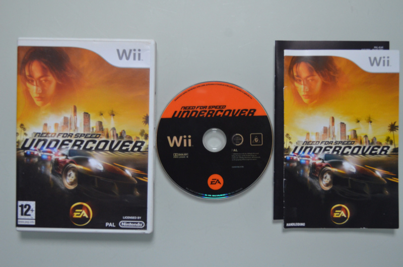 Wii Need For Speed Undercover | Wii Games - Nieuw en