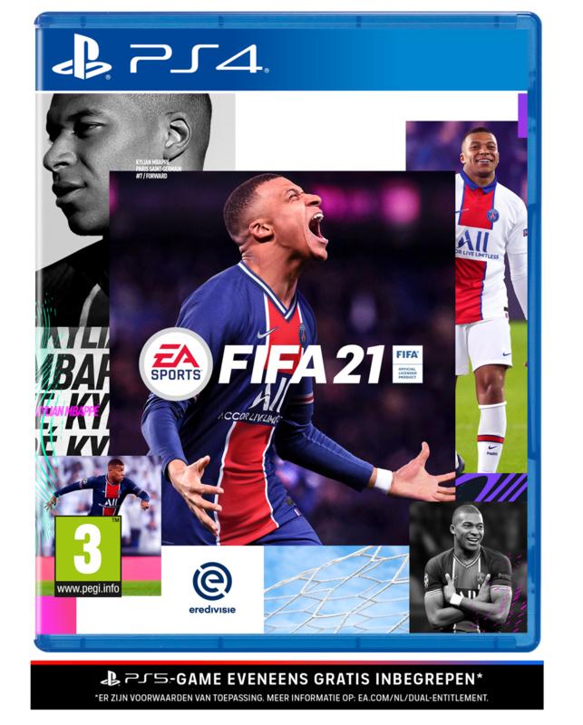 Ps4 Fifa 21 + PS5 Upgrade [Nieuw]