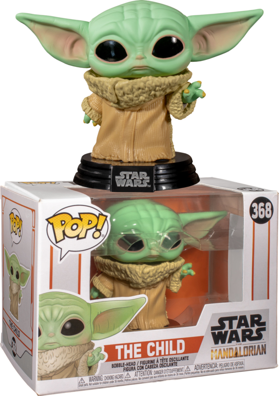 Star Wars Funko Pop - The Mandalorian The Child (Baby Yoda) #368 [Nieuw]