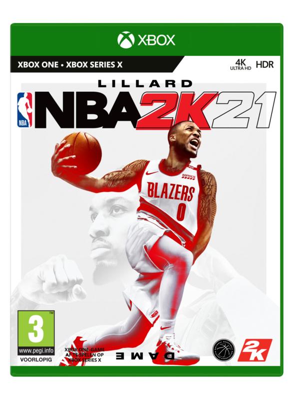 Xbox NBA 2k21 (Xbox One) [Nieuw]