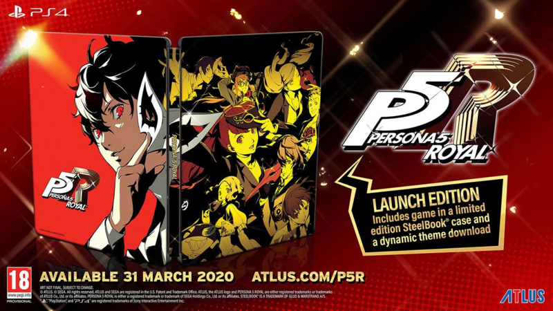 Ps4 Persona 5 Royal Launch Edition [Pre-Order]