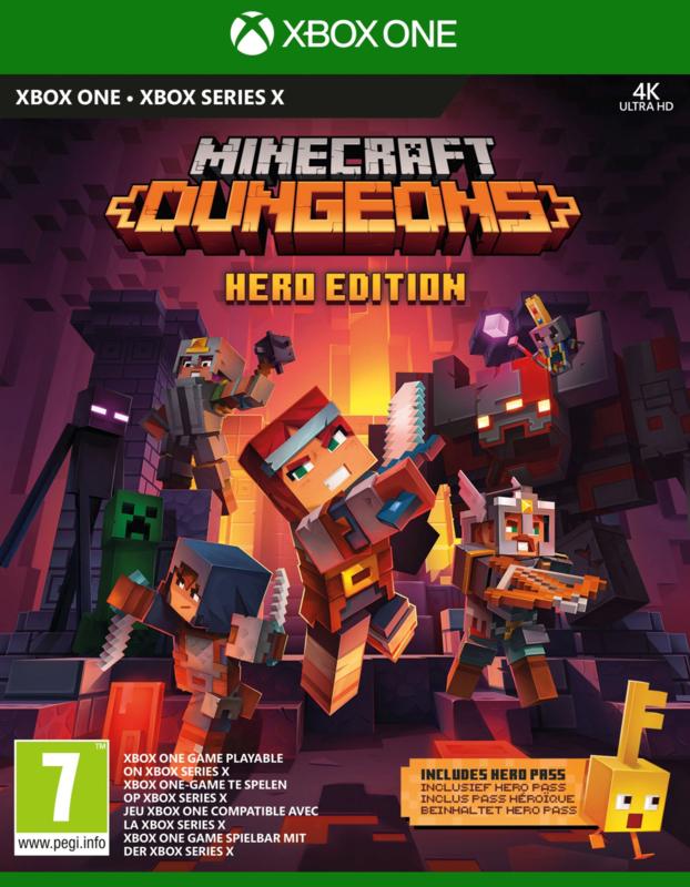 Xbox One Minecraft Dungeons Hero Edition [Nieuw]