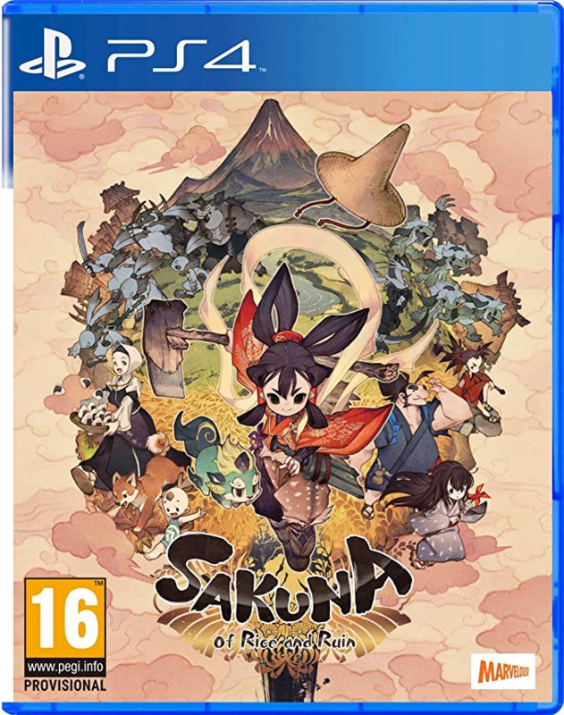 Ps4 Sakuna Of Rice And Ruin [Nieuw]