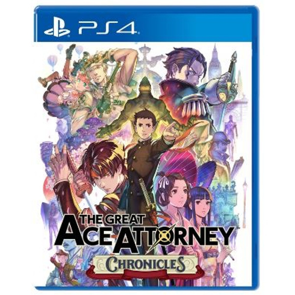 PS4 The Great Ace Attorney Chronicles [Pre-Order]